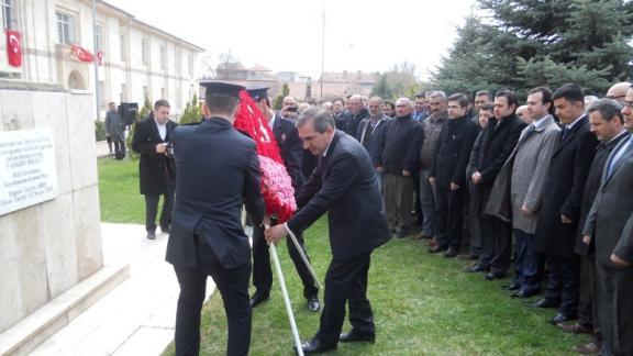 Mili Şehit Kaymakam Kemal Bey Düzenlenen Törenle Anıldı.